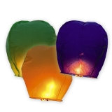 Lampion culori asortate 100 cm Big Party