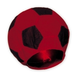 Lampion minge de fotbal rosie 100cm Big Party