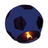 Lampion minge de fotbal albastru inchis 100cm Big Party