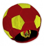 Lampion minge de fotbal rosie/galbena 100cm Big Party