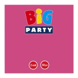 Servetele 33 x 33 cm fuchsia Big Party