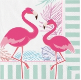 Servetele 33 x 33 cm Flamingo, 20 buc/set Big Party