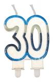 Lumanare numarul 30 Sweet Celeste Big Party