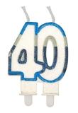 Lumanare numarul 40 Sweet Celeste Big Party