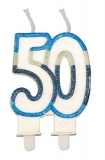 Lumanare numarul 50 Sweet Celeste Big Party