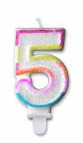 Lumanare numarul 5 Sweet Big Party