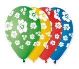 Baloane 100 bucati/set Multicolor Hawaii Big Party