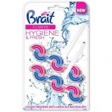 Odorizant WC Hygiene & Fresh Flowers Duo, 45 gr, 2 buc/set, Brait