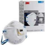 Masca de protectie respiratorie FFP2, cu supapa, 8822, 10 buc/cutie 3M