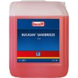 Detergent spatii sanitare pe baza de acid Bucasan Sanibreeze G454, 10 L Buzil