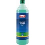 Detergent profesional multisuprafete pe baza de alcool Polybuz Trendy T201, 1 L Buzil