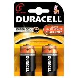 Baterie alcalina LR14 (AA), 2buc/blister Duracell