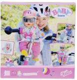 Baby Born - Scaunel De Bicicleta 43 Cm Zapf
