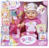 Baby Born - Mica Papusa Interactiva Cu Corp Moale, 36 Cm Zapf