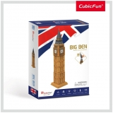Puzzle 3D Big Ben (Nivel Mediu 44 Piese)  Cubicfun