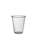 Pahare unica folosinta transparente 230 ml 100 buc/set