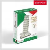 Puzzle 3D Turnul Din Pisa (Nivel Mediu 27 Piese)  Cubicfun