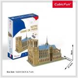 Puzzle 3D Notre Dame (Nivel Mediu 53 Piese)  Cubicfun
