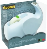 Dispenser banda adeziva elefant alb Scotch 3M