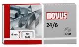 Capse 24/6 1000 bucati/cutie Novus