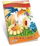 Carte de colorat A5 Degetica