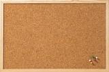 Panou de pluta cu rama de lemn 60 x 40 Franken