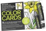 Carte de colorat Flowers Chameleon