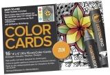 Carte de colorat Zen Chameleon