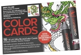 Carte de colorat Tattoo Chameleon