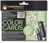 Carte de colorat Patterns Chameleon