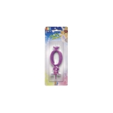 Lumanare Clasica Violet Nr. 0 Big Party