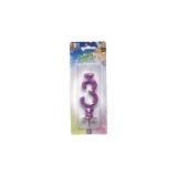 Lumanare Clasica Violet Nr. 3 Big Party