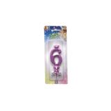 Lumanare Clasica Violet Nr. 6 Big Party