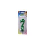 Lumanare Clasica Verde Nr. 7 Big Party