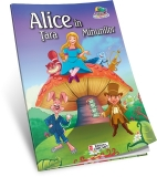 Carte de colorat A5 Alice in tara minunilor