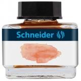 Calimara cu cerneala pastel, 15 ml, culoare apricot, Schneider