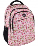 Ghiozdan Cool For School 45 cm Pink Flowers ErichKrause