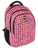 Ghiozdan Cool For School 45 cm Hearts ErichKrause