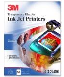 Folie retroproiector pentru imprimanta inkjet 50/set 3M