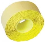 Rola pret 26 x 16 mm galbena 1000 etichete/rola