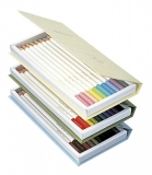 Creioane colorate Irojiten, Volum 1, 2, 3 Rainforest, 30 culori/set Tombow