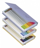 Creioane colorate Irojiten, Volum 7, 8, 9 Seascape, 30 culori/set Tombow