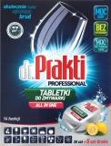 Detergent tablete pentru masina de spalat vase, 35 buc/set, Dr Prakti