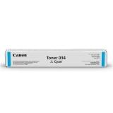 Cartus Toner Cyan 034C 7,3K Original Canon Ir C1225