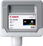 Cartus Black Pfi-302Bk 330Ml Original Canon Ipf 8100