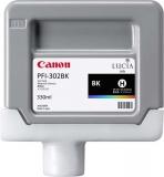 Cartus Black Pfi-302Bk 330Ml Original Canon Ipf 8100