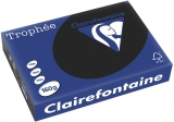 Carton color A4, 160 g, Intens Black, 250 coli/top Clairefontaine