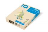 Carton IQ color pastel A4 cream 160 g/mp, 250 coli/top