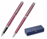 Set stilou + pix Hemisphere Coral Pink CT Waterman