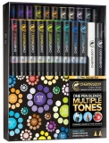 Set markere 22 culori Deluxe Chameleon